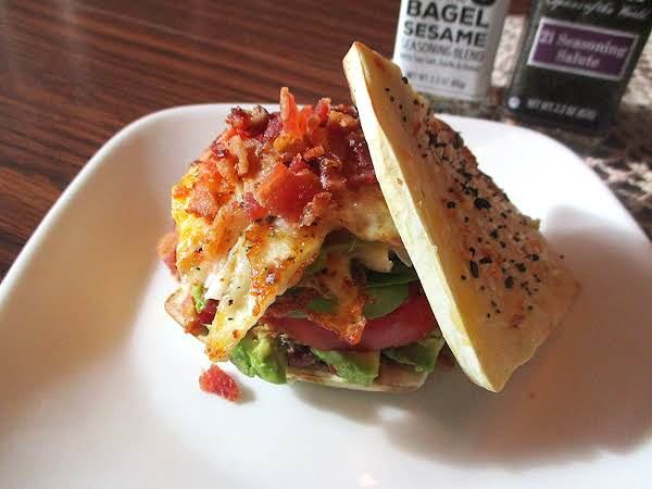 Hold The Plank - Paleo Breakfast Bagel Recipe