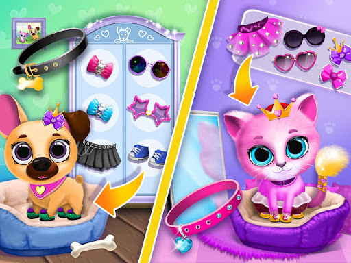 Kiki & Fifi Pet Friends - Furry Kitty & Puppy Care 2.0.98 screenshots 13