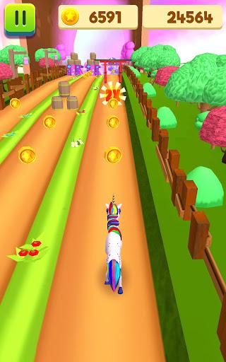 Unicorn Run - Runner Games 2020 filehippodl screenshot 7