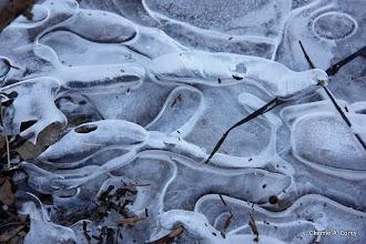 Photo: Ice collage, Concord River