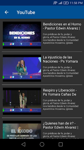 Hosanna Visiu00f3n 3.0.20180728 screenshots 4