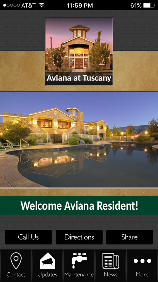 Aviana at Tuscany- screenshot