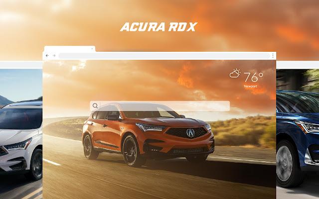 Acura RDX HD Car Wallpapers New Tab