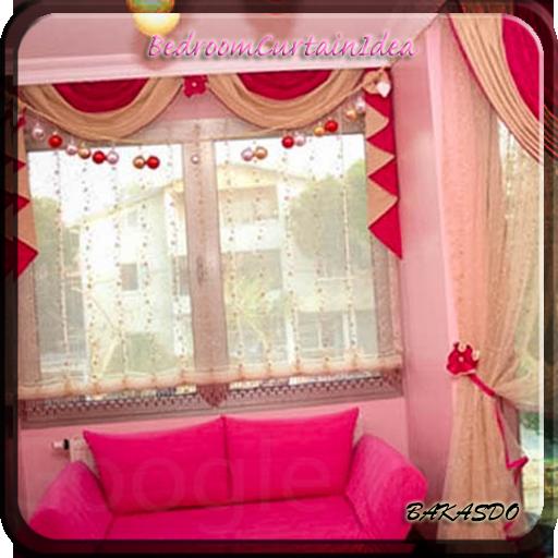 卧室窗帘理念 生活 LOGO-玩APPs