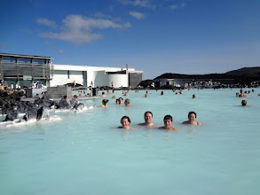 Photo: Final day in Iceland we went to The Blue Lagoon for a few hours before heading to the airport