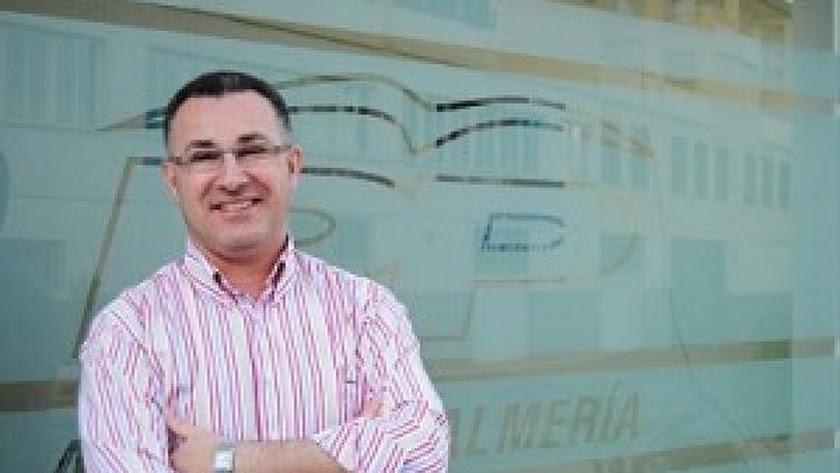 Cristóbal Rodríguez, alcalde de Alhama de Almería.