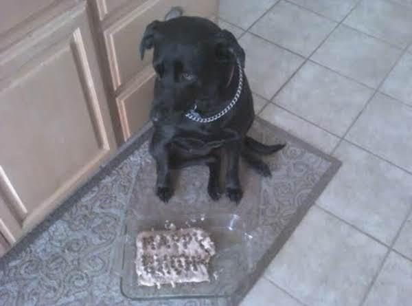 Jo-jo's Birthday Cake (for Dogs) Recipe