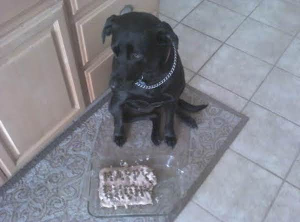 Jo-jo's Birthday Cake (for Dogs)