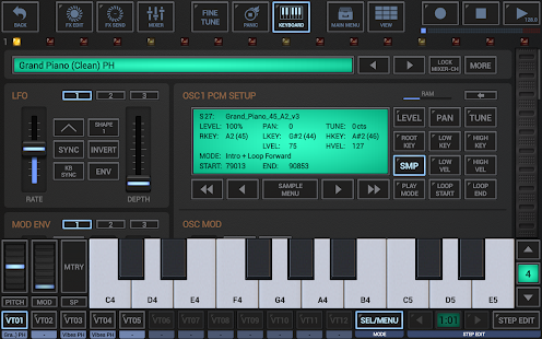 G-Stomper VA-Beast Synthesizer- screenshot thumbnail