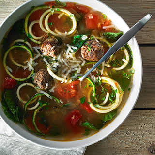 Zucchini Noodle Wedding Soup.