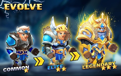 Tiny Gladiators 2: Heroes Duels – RPG Battle Arena Apk Download For Android and Iphone 8