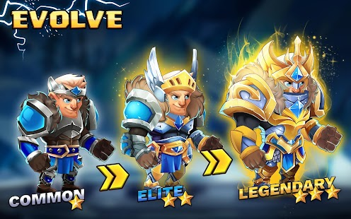 Tiny Gladiators 2: Heroes Duels - RPG Battle Arena Screenshot