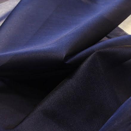 Sidenorganza - midnattsblå