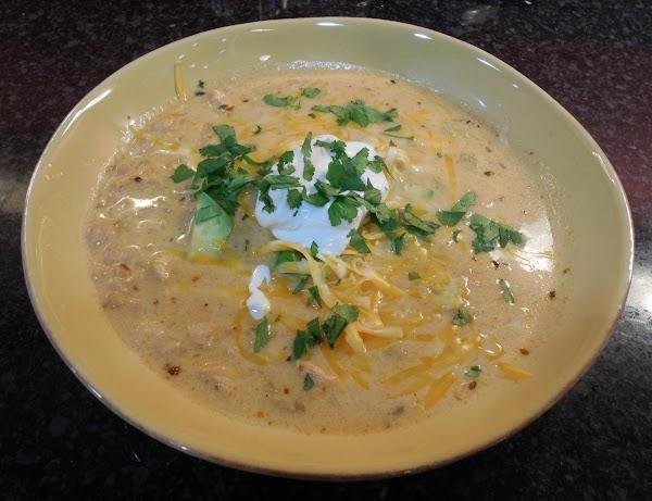 White Chili Soup Recipe