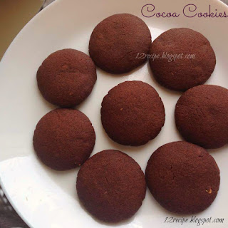 Cocoa Cookies No Eggs Recipes.