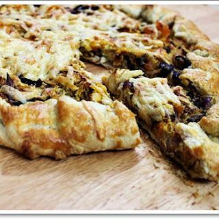 : Butternut Squash & Cabbage Galette