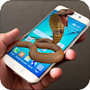 Snake on Mobile Screen Prank