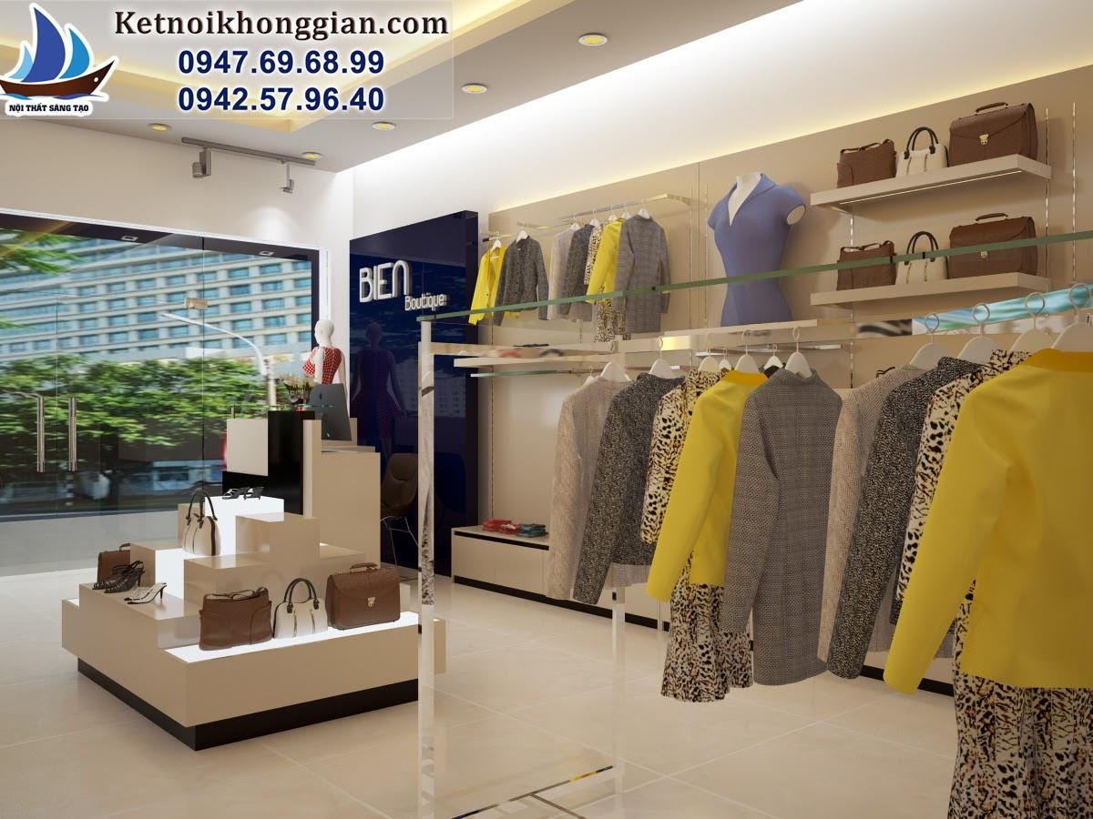 thiết kế shop thời trang nữ tại đường 3/2 thái nguyên