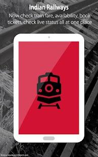 Indian Rail IRCTC & Train PNR- screenshot thumbnail