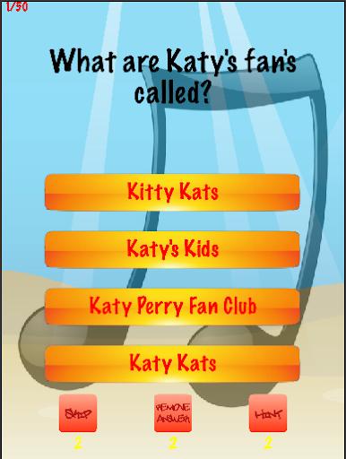 Katy Perry Trivia