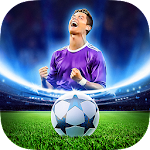Free Kick Football Champions League 2018 Icon