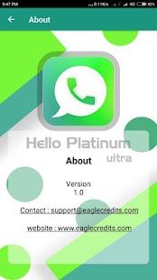 Hello Platinum Ultra - náhled