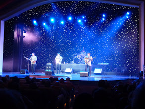 """Photo: First evening show - """"Beatles Night"""" by 4 performers who actually came from Liverpool England"""