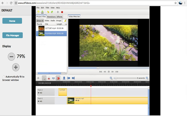 Video editor OpenShot online
