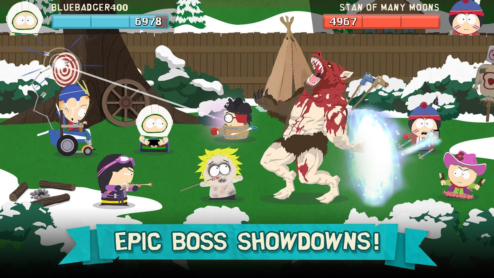 South Park: Phone Destroyer™- screenshot