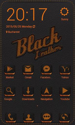 Black Leather Zero Launcher