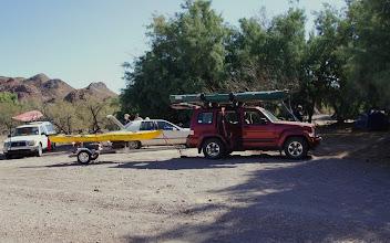 Photo: Picacho SRA campsite. (R Miller)
