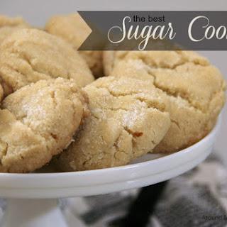 Homemade Sugar Cookies.