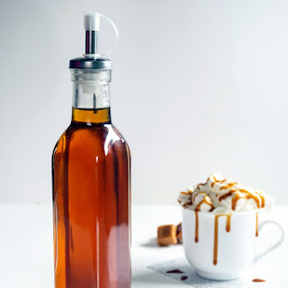Salted Caramel Syrup for Coffee.