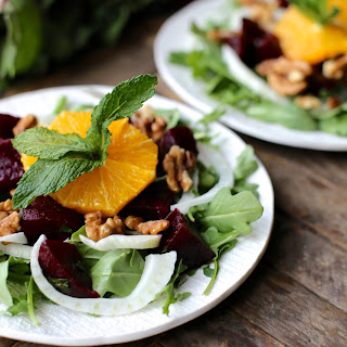Beet, Fennel, and Orange Salad with Cumin Lime Dressing