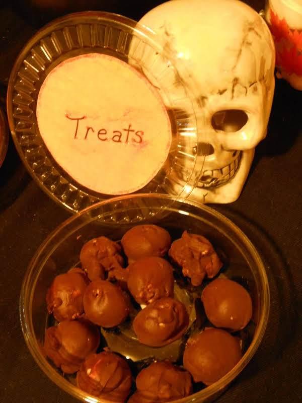 Peanut Butter Balls-sinful!