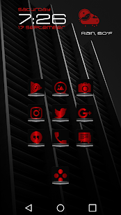 Exec Red Icon Pack- screenshot thumbnail