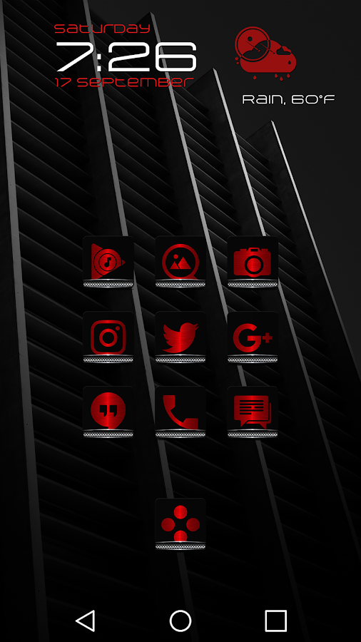 Exec Red Icon Pack- screenshot