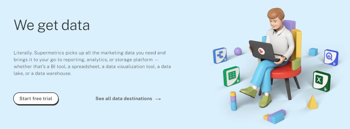 supermetrics marketing analytics tool