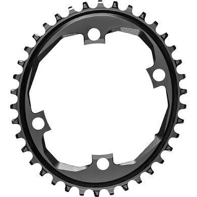 Absolute Black SRAM Apex 1 Chainring- 110 SRAM Asymmetric BCD,  Narrow-Wide