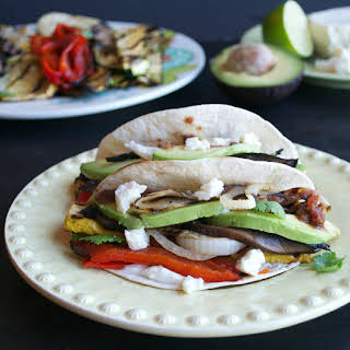 Chipotle Grilled Vegetable Tacos.