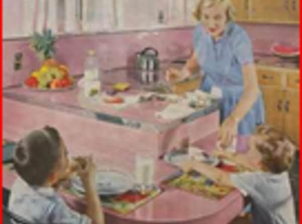 Chocolate Pressed Cookies (1950)