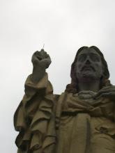 Photo: Figura Chrystusa w San Sebastian.