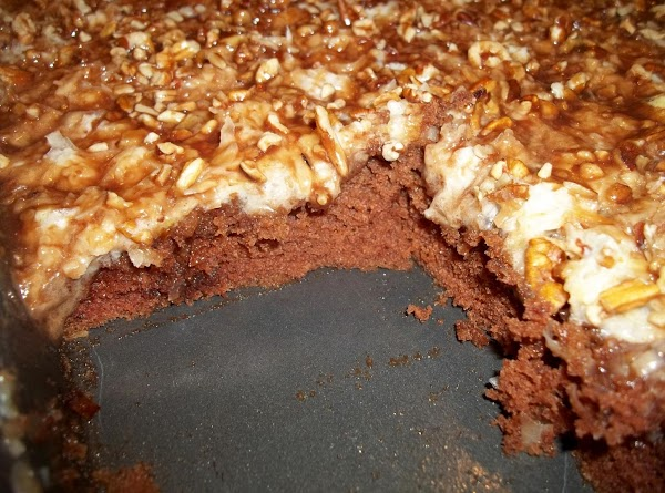 Coconut / Chocolate Sheet Cake Recipe