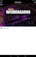 Screenshot of Webbdagarna