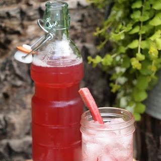 Vanilla Rhubarb Syrup