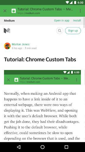 玩免費程式庫與試用程式APP|下載Dev Sample: Chrome Custom Tabs app不用錢|硬是要APP