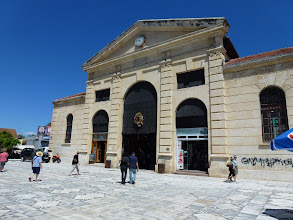 Photo: Chania indoor market place