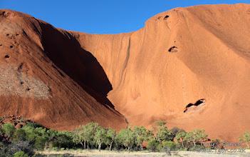 Photo: Uluru up close, Northern Territory, Australia