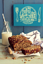 Photo: 25.Banana Bread With Flaxseed and Pumpkin Seed Blog-Cooking With Love  Name : Yulyan Parwati Blog's URL :, http://dapur-eeyand.blogspot.com/ URL of the post containing the photograph : http://dapur-eeyand.blogspot.com/2013/04/banana-bread-with-flaxseed-and-pumpkin.html Camera and lens used : Canon 500D , 50mm F1.8 Location : Indonesia