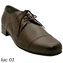 Photo: Cuir marron - Luc sur www.raquel-shoes.com